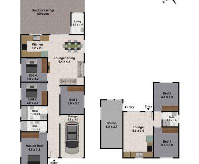2D / 3D Floorplans